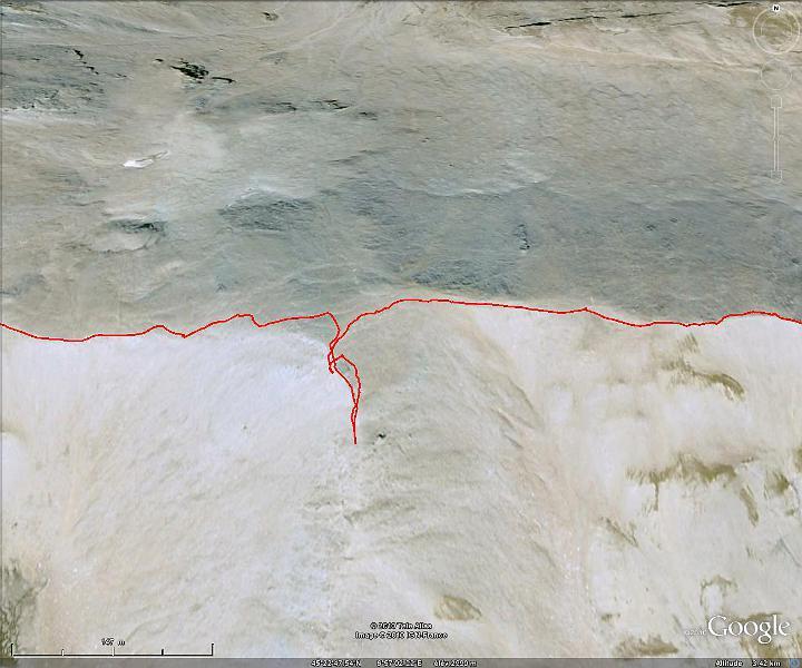 Ascension de la pointe de la Sana Detour